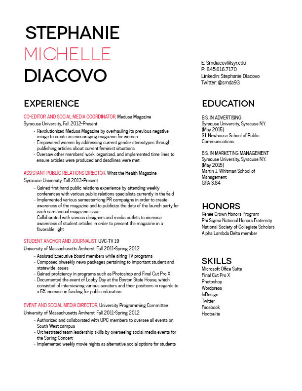 resume gra 217 section 5 group 1 page 15