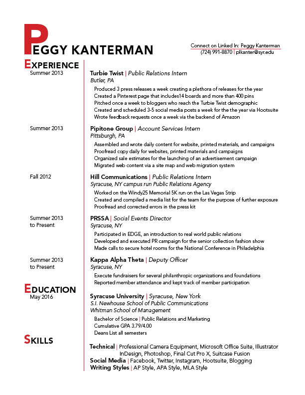 redo resume gra 217 section 5 2